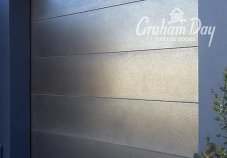 Sectional Door - Axolotl Pitted Nickel. & Graham Day Garage Doors - Image Gallery | View Image